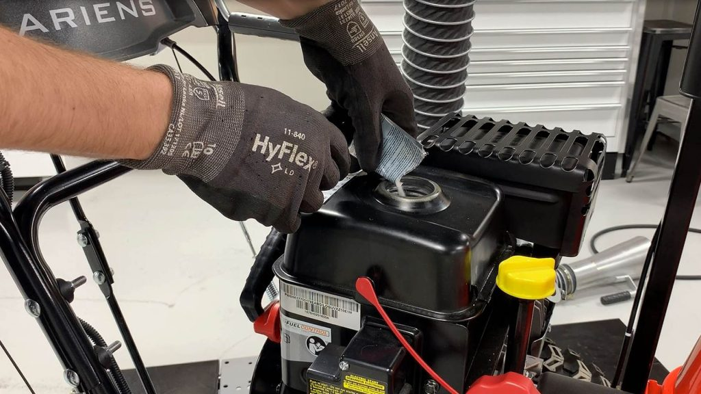 How to Drain Gas from a Snowblower?