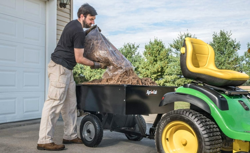 6 Reliable Dump Carts for Lawn Tractors – Move Heavy Loads with Ease!
