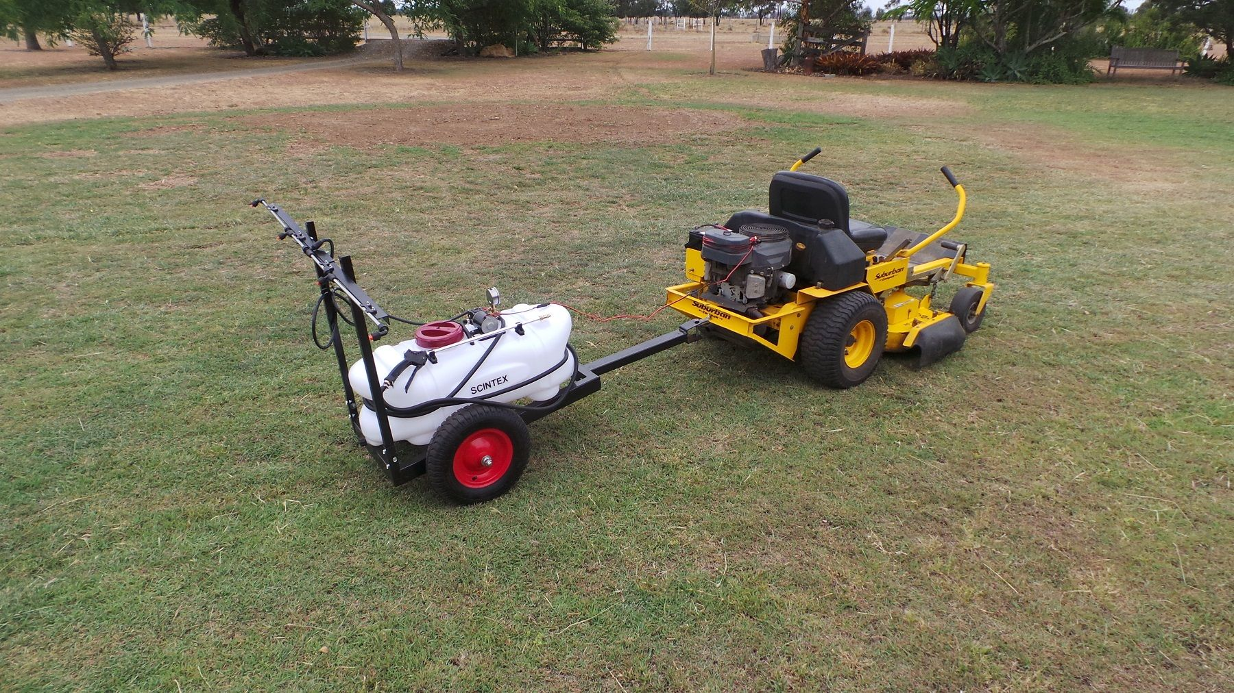 7 Best Tow Behind Sprayers - Relaxing Way To Work!