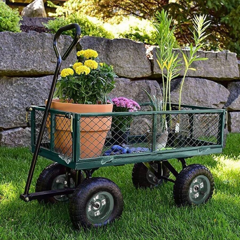 5 Best Garden Carts - Easily Managed