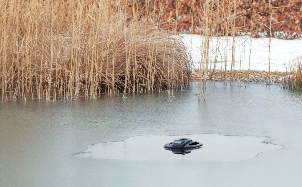 How To Keep A Pond From Freezing Without Electricity?