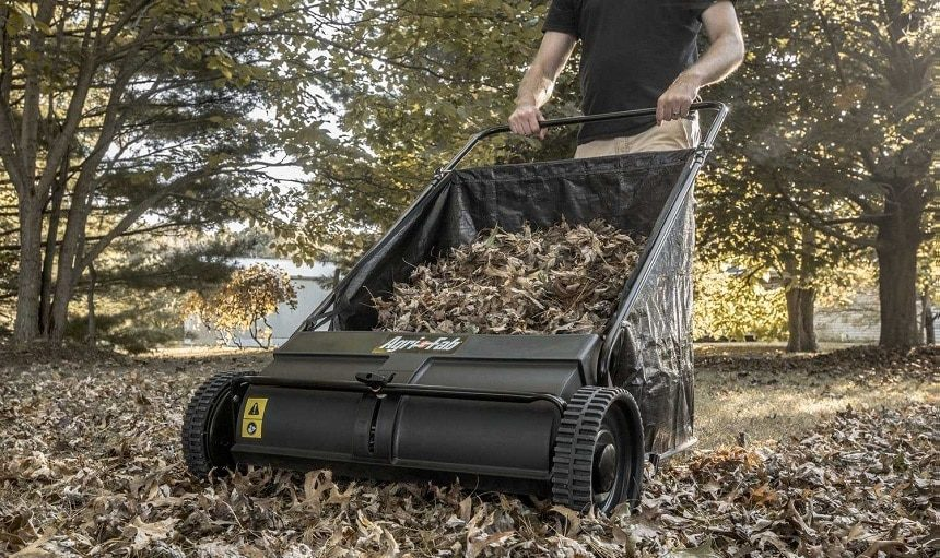 10 Best Lawn Sweepers – Get Rid of the Debris with a Single Pass!