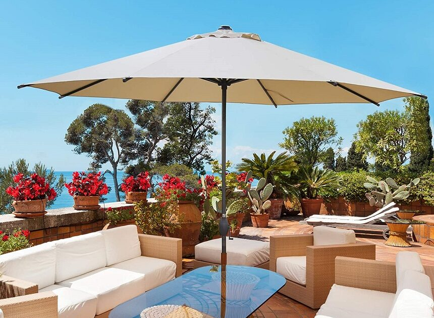 6 Best Large Patio Umbrellas - Enjoy Your Time Outdoors!