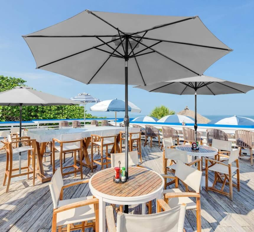 10 Sturdy Patio Umbrellas for Wind - Reviews and Buying Guide