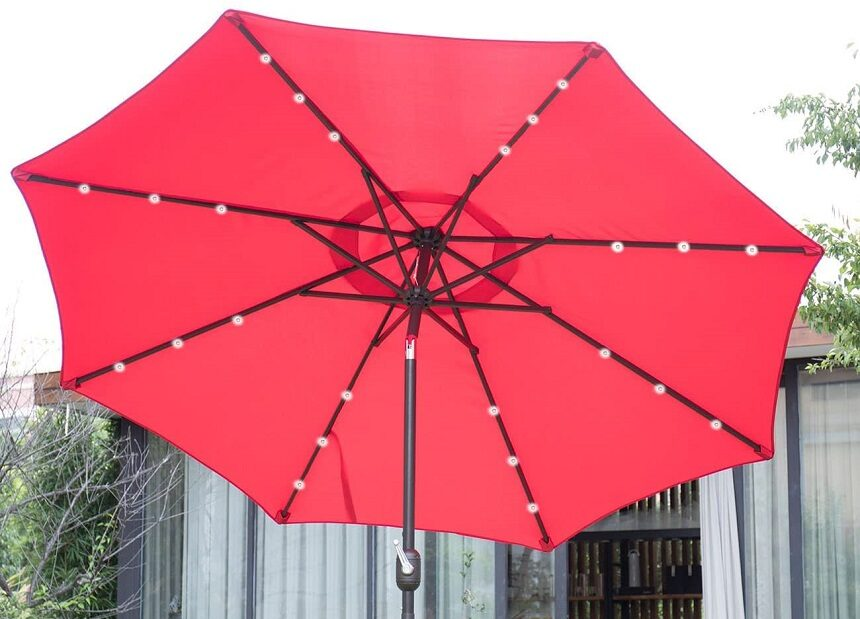 6 Best Solar Umbrellas to Extend Your Outdoor Stay