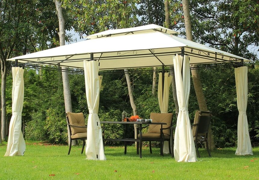 7 Best Gazebos for High Winds - Bad Weather Is Not An Obsticle