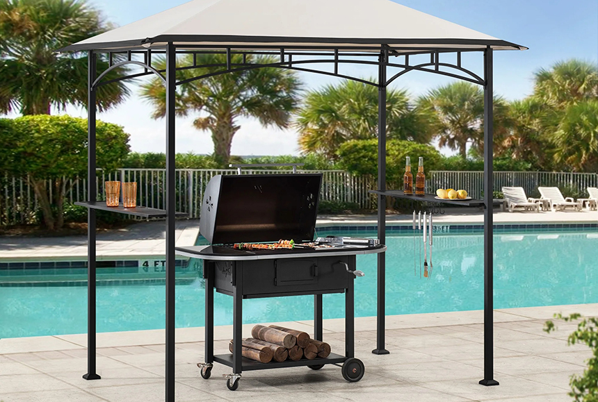 6 Best Grill Gazebos - Nothing Can Interrupt Your Plans