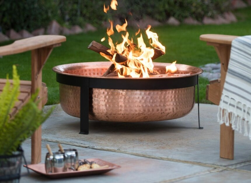 9 Best Copper Fire Pits for Unique Backyard Atmosphere