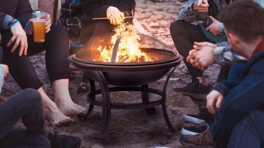 8 Best Fire Pit Spark Screens - Use Your Fire Pit Safely!