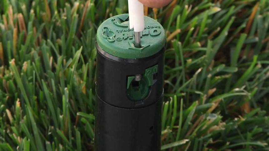 How to Adjust Sprinkler Heads