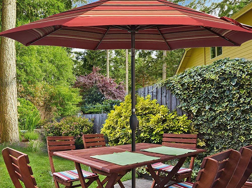 How to Keep Your Patio Umbrella from Spinning and Falling Over