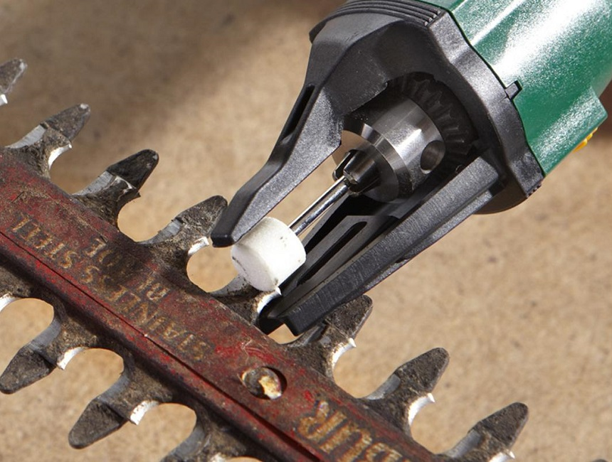 How to Sharpen Hedge Trimmers with a File, a Power Grinder, or a Dremel