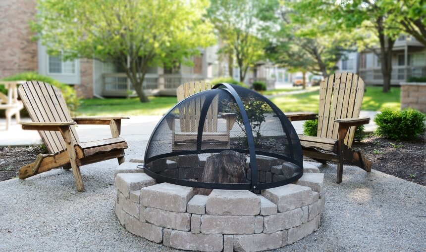 How to Make a Fire Pit Spark Screen - Follow These Easy Steps!