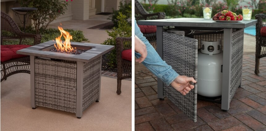 How to Start a Fire in a Wood-Burning or Gas Fire Pit